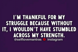 How To Be Thankful When You Are Going Through Tough Times